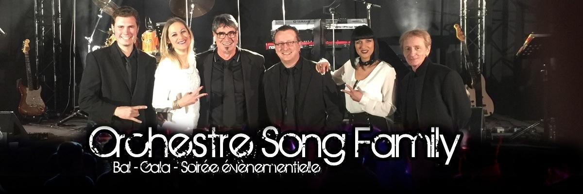 MUSIQUE : Orchestre de variété Song Family